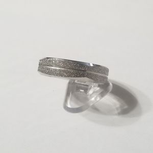 New stainless steel ring size 13